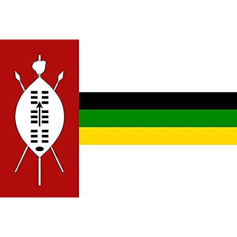 KwaZulu flag 1985 | KwaZulu homeland from 1985-1994 | KwaZulu uit 1985-1994 | IFulegi KwaZulu 1985-1994 Bandera 20x30cm para Diplomat-Flags Banderas de Coche