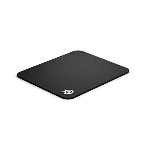 SteelSeries QcK Mass, alfombrilla de ratón de juego, 320 x 285 x 6mm, negro