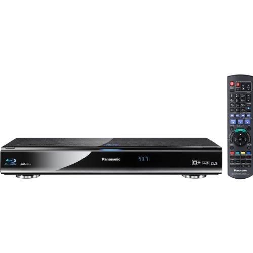 Panasonic DMR-BST700EG 3D-Blu-ray-Recorder (320GB, 2x CI Plus, WLAN, Skype, 2x USB Eingang) schwarz
