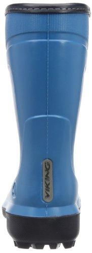 Viking Supra Light Unisex-Kinder Ungefütterte Schneestiefel Blau (Turquoise/Navy 2205)