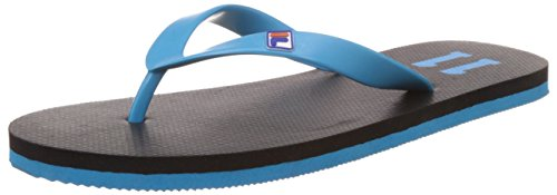 Fila Men's Fila11 Black and Blue Flip Flops Thong Sandals -10 UK/India (44 EU)  available at amazon for Rs.174