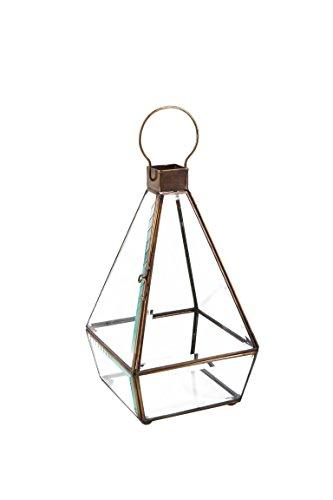 Moycor 7590102.0 biseau - Petit bougeoir Pyramide, 13 x 13 x 22 cm