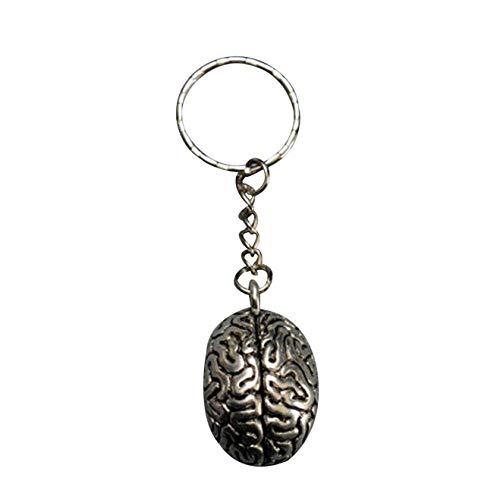 Huixing Bunte Best Wing Cerebrum Brain Schlüsselanhänger - Bild Farbe (Brain-bild)