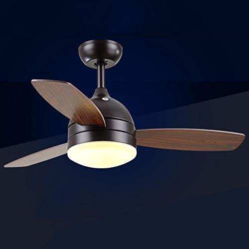 La luz de techo del ventilador, sala retro eléctrica moderna simple de...
