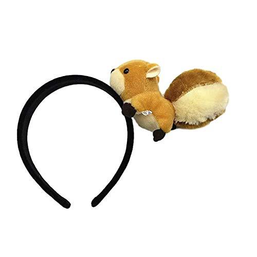 Eichhörnchen Kostüm Braune - Flauschiges Felliges Eichhörnchen-Figur mit Eichhörnchen-Figur