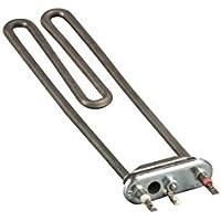 Heizelement mit Öffnung für Temperaturbegrenzer für Waschmaschinen 2000 Watt, wie Bosch Siemens 263726
