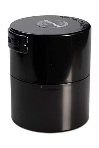 altrado Headshop 'Tightpac' Vakuum-Container 0,12Liter farbig - schwarz - dient zur Verwendung für Kräuter und Tee´s - Vakuum-container