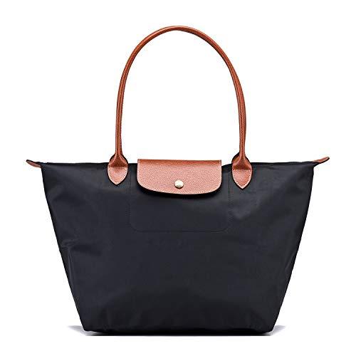 Longchamp Damen Le Pliage Large Tote Bag (Schwarz)