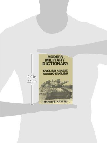 Modern Military Dictionary: English-Arabic/Arabic-English