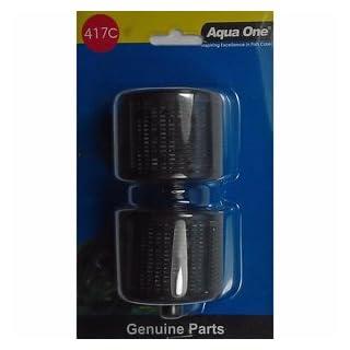 Aqua One 417C Ceramic Media Cartridge, pack of 2. Replacement for Moray 500 & 600 (25417c)