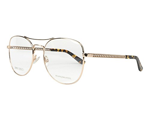 Jimmy Choo Damen JC200 J5G 54 Sonnenbrille, Gold,