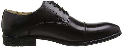 Steptronic Franco, Chaussures de ville homme Noir (Black)