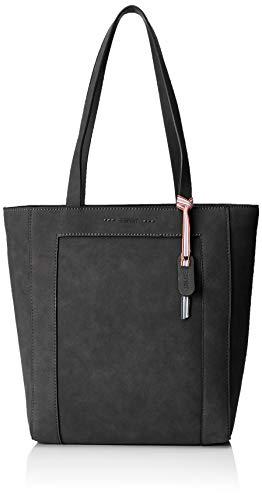Esprit Accessoires Damen 019ea1o013 Schultertasche, Schwarz (Black), 13x31,5x26,5 cm