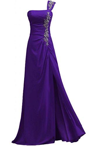 Sunvary A-line perle elegante per una spalla Pageant abito da sera, Donna Regency