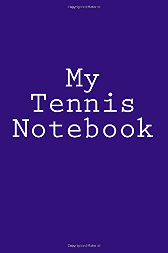 My Tennis Notebook por Cartmell