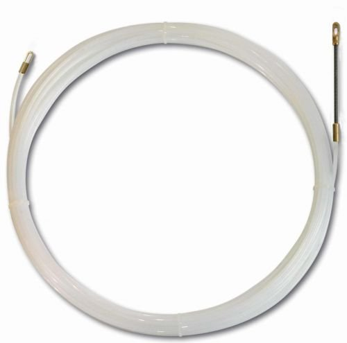 ViD® Polyamid-Nylonband Ø 4 mm x 15 m durchsichtig ideales Einzugsband zur Kabelverlegung I Kabelverlegungen