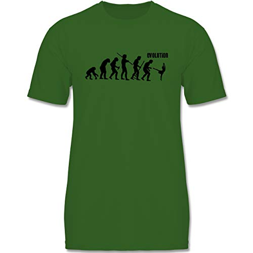 (Evolution Kind - Modern Dance Evolution - 134-146 (9-11 Jahre) - Grün - F140K - Jungen T-Shirt)