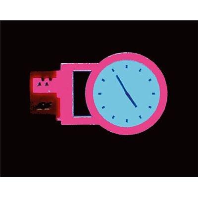 Faller 180658 - Reklame-Set Uhr - Leuchtreklame Uhr