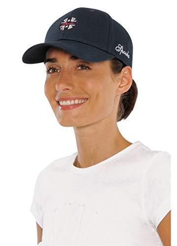 SPOOKS Damen Cap, Kappe Schirmmütze, Cappy, Baseball Mütze, Schirm, Baseballmütze für Frauen Mädchen Kinder - Isi Cap Navy Onesize