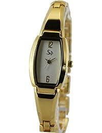 Armbanduhren Spirale Womens Analogue Quartz Watch With Metal Strap 2130682