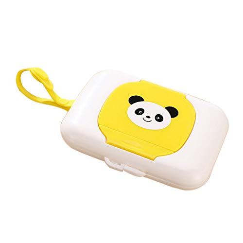 KESOTO Handtuch Tissue Box Spender Baby Kinderwagen Zubehör - Gelb