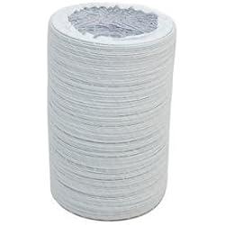 vent hose De Remplacement de qualité Universel pour sèche-Linge Tuyau d'aération (4M de Long, 102mm de diamètre)