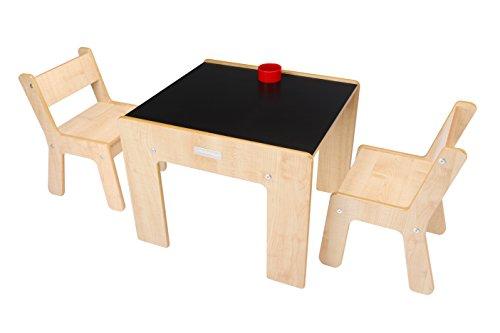 Tavolini In Legno Per Bambini : Little helper fsd tavolino con portamatite e sedie per