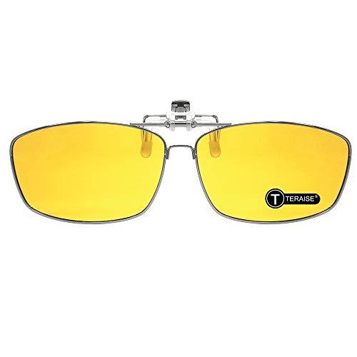 TERAISE Clip An Der Nachtfahrbrille/Herrenclip An Der Sonnenbrille Mit Klappfunktion Für Outdoor-Sportarten