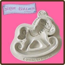 pulsanti-di-zucchero-cupcake-glassa-fondente-decorazione-stampo-cavallo-a-dondolo
