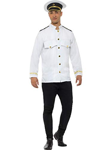 Kapitän Des Schiffes Kostüm - Fancy Ole - Herren Männer Männer