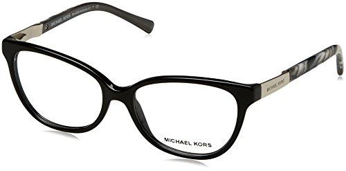 Michael Kors - ADELAIDE III MK 4029, Rechteckig, Acetat, Damenbrillen, BLACK GREY MARBLE(3120),...