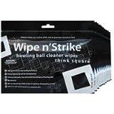 Bowlingball Reiniger Wipe n´Strike Reinigungstücher