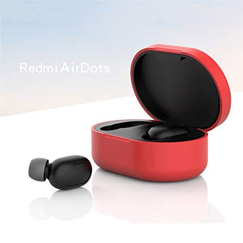 BEESCLOVER Silikon schutzhülle kopfhörer case für X-iao-mi redmi airdot Blueteeth kopfhörer Fashion Version Wireless red -