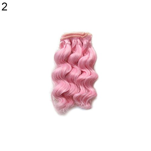 MAJGLGE Madgle, 15 cm, schöne Puppenspielzeug, DIY Perücke, lockiges Haar, für Barbie BJD Zubehör - 10# 2#