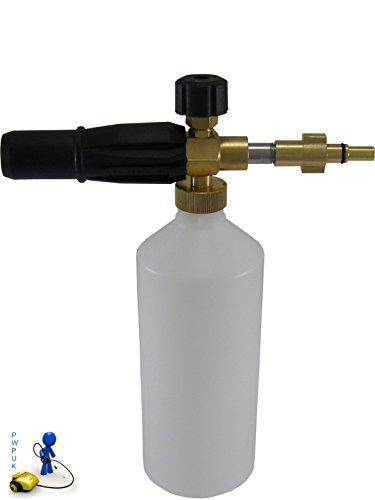 Preisvergleich Produktbild Schaumkanonen-Aufsatz für Hochdruckreiniger, kompatibel mit Black & Decker