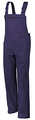 Kostüm Wetter Frau - Qualitex Arbeits-Latzhose BW 270 - Größe: 56 - hydronblau