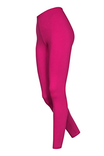 Lange Kinder Leggings, Pink, 122