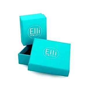 Elli Damen-Stapelring 925 Silber Emaille