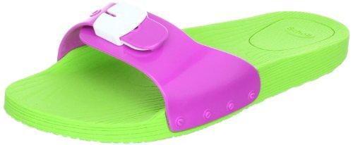 scholl-scholl-pop-scarpe-basse-unisex-adulto-multicolore-mehrfarbig-lime-green-pink-white-1575-40