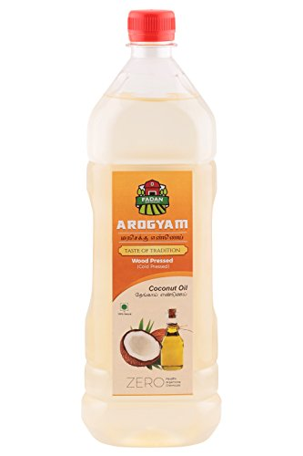 Arogyam cold pressed/wood pressed oil combo pack each 1000ml coconut oil.