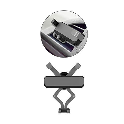 GST&GST Auto Handyhalter, Universal Auto Handyhalterung Einstellbar Lüftungsschlitz KFZ Lüftung Halter Für Die Meisten Smartphones,Gray
