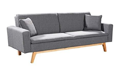 Mueblix Sofa Cama Sonora (Gris Oscuro)