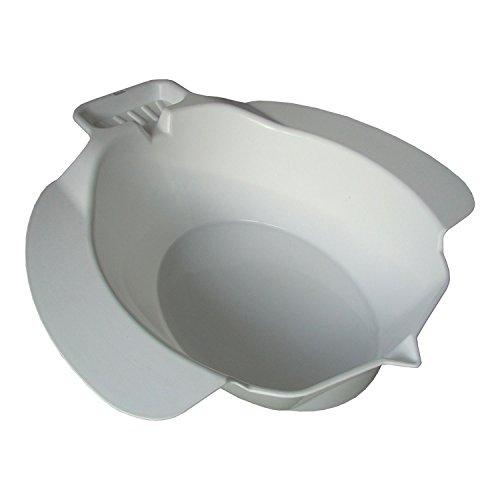 Bidetbecken, weiß   Sundo Homecare Einsatz-Bidet für die Toilette   Sitzwanne / Sitzbecken / Sitzbad