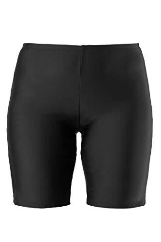 Ulla Popken Femme Grandes Tailles Culotte Jambes Longues Anti-Friction Grande Taille prévient l'irritation de l'entre-Jambe causée par Le frottement des Cuisses Noir 64 698609 10-62