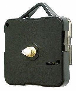 Vinyl Guru® Replacement Quartz Clock ticking movement motor mechanism plus battery (Short 3mm Spindle Shaft for clock faces up to 3mm
