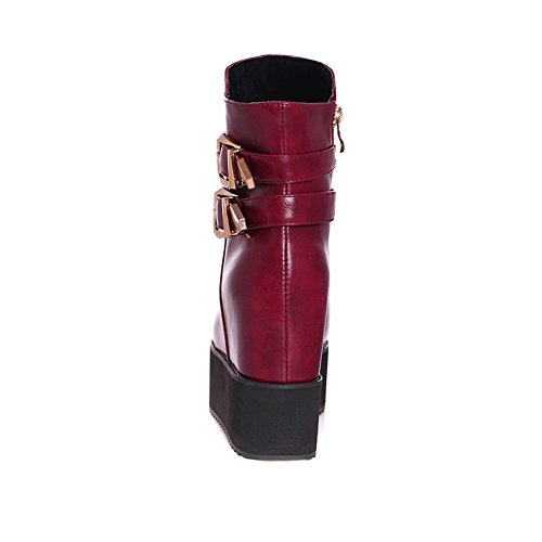 BalaMasa - Scarpe con plateau donna Red