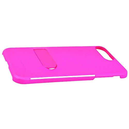 """WE LOVE CASE iPhone 7 Plus / iPhone 8 Plus Hülle Stand und Karte Funktion Zeichnung iPhone 7 Plus / iPhone 8 Plus 5,5"""" Hülle Minze Grün Schutzhülle Handyhülle Handytasche Handycover PC Harte Case Anti rose Red"""