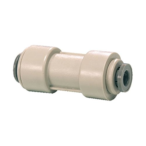John Guest Push Fit Reducing Straight Connector 3/8 to 1/4 inch by John Guest (John Guest Fittings)
