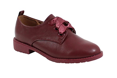 By Shoes , Scarpe Stringate Basse Rosso