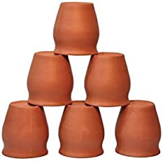 clay glass(pack of 6)